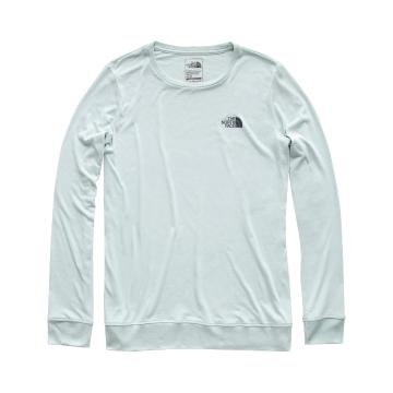 The North Face TNF Wmns L/S Twig Town Tri-Blend Tee - Blue Haze Heather