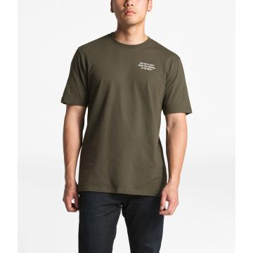 The North Face Men's Short Sleeve Newsflash Tee - New Taupe Green