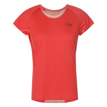 The North Face Women's Better Than Naked Short Sleeve Tee - Cynnrd/Tropic