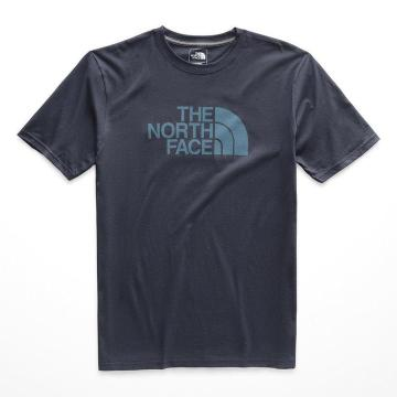 The North Face Men's Short Sleeve Half Dome Tee - Urban Navy/Storm Blue