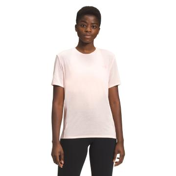 The North Face Women's Wander Short Sleeve - Pearl Blush Heather