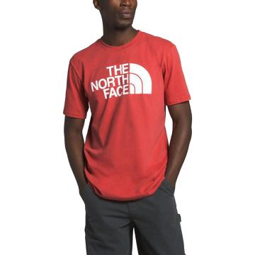 The North Face Men's Short Sleeve Half Dome Tee - Sunbaked Red