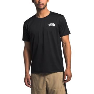 The North Face Men's Short Sleeve Reaxion Tee - TNF Black