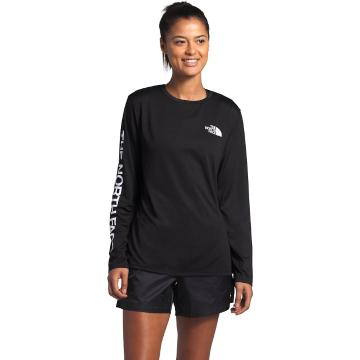 The North Face Women's Long Sleeve Reaxion Tee - TNF Black