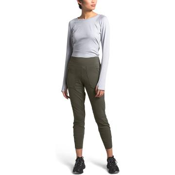 The North Face Women's Paramount Hybrid High Tights - New Taupe Green