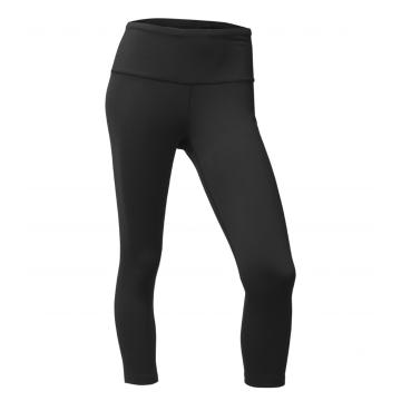 The North Face Women's Motivation HR Crop Tight - TNF Black