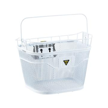 Topeak Handlebar Basket for Electric with Fixer 3E - White