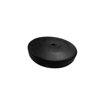 Team Sports Vinyl Weight Plate Standard - Black