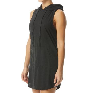 TYR 2021 Women's Kora Hooded Dress - Black - Black