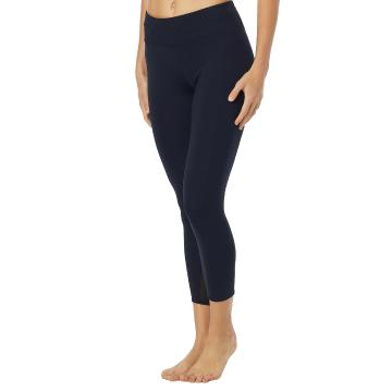 TYR Women's Solids 3/4 Kalani Tights - Black
