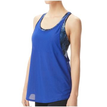TYR 2022 Women's Storm Madison 2in1 Tank Top - Blue