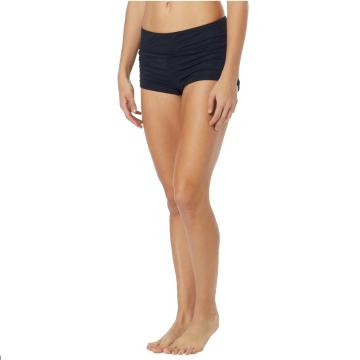 TYR Women's Solids Della Boyshorts - Black