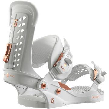 Union    Women's Trilogy Snowboard Bindings - White