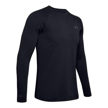 Under Armour Men's Packaged Base 2.0 Crew - Black/Pitch Grey