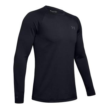 Under Armour Men's Packaged Base 3.0 Crew - Black/Pitch Grey