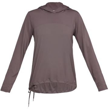 Under Armour Women's Fusion Hoodie - Ash Taupe/Tetra Gray