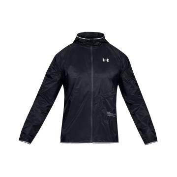 Under Armour Men's Storm Qualifier Packable Jacket - Blk/Blk/Reflect
