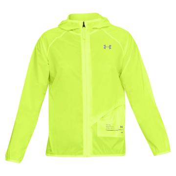 Under Armour Women's Qualifier Storm Packable Jacket - HighVisYellow/Black