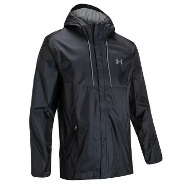 Under Armour Cloudbust Shell Jacket - Black/Black/Pitch Gray