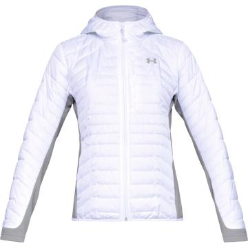 Under Armour Women's CGR Hybrid Jacket - White/Gry/Deceit