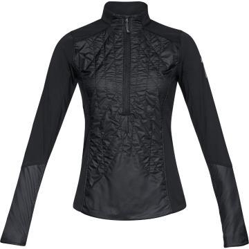 Under Armour Women's Trail Run Hybrid 1/2 Zip Jacket