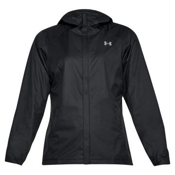 Under Armour Women's Overlook Jacket - Black/Black/Overcast Grey