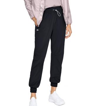 Under Armour Women's Recover Woven Pants - Black / Onyx White