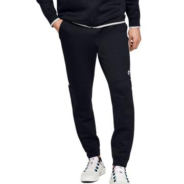 Under Armour Men's Recover Fleece Pants - Blk/Onyx White/Metallic Silv