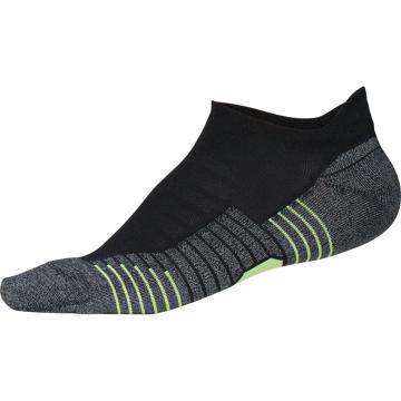 Under Armour Run No Show Tab Socks - Black/White/Silver
