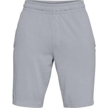 Under Armour Men's Sportstyle Rival Short - StlLitHther/Blk