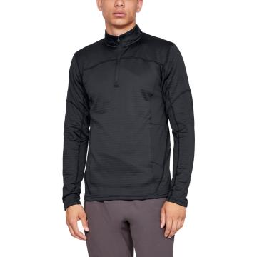 Under Armour Men's Active Fleece 1/2 Zip - Black/Charcoal