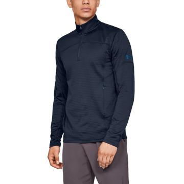 Under Armour Men's Active Fleece 1/2 Zip - Acad/Deceit/Deceit