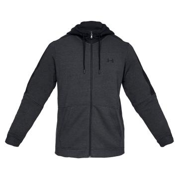 Under Armour Microthread Fleece Hood - Black FullHther/Black/Black