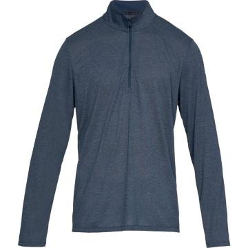 Under Armour Men's Threadborne 1/2 Zip - AcadFullHthr/Acad