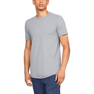 Under Armour Men's Sportstyle Tri-blend Tee - StlLitHther/Blk