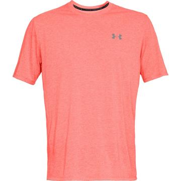 Under Armour Men's Threadborne Short Sleeve - RadioRed/RadioRed