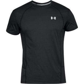 Under Armour Men's SWYFT SS Tee - Black/Reflect