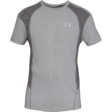 Under Armour Men's SWYFT SS Tee - StlLitHther/CharMedHther/Refle