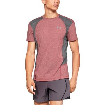Under Armour Men's SWYFT SS Tee - BricRedHther/CharMedHther/Refl