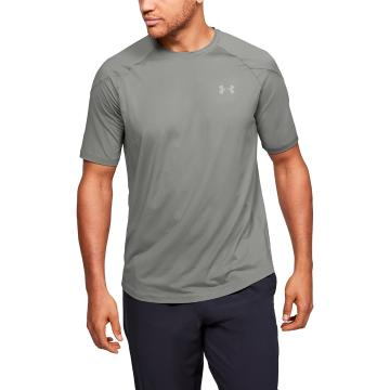 Under Armour Men's Recover Short Sleeve - Gravity Green / Surface Gray