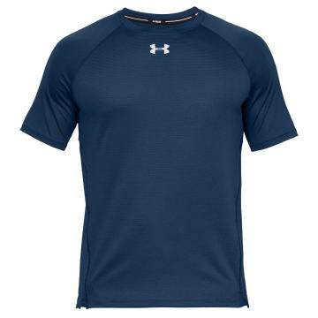 Under Armour Men's Qualifier Short Sleeve - PetrolBlue/PetrolBlue