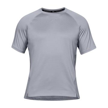 Under Armour Mens Qualifier Short Sleeve - Mod Grey/Mod Grey