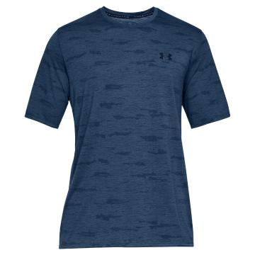 Under Armour Men's Siro Print Short Sleeve - Petrol Blue/Academy