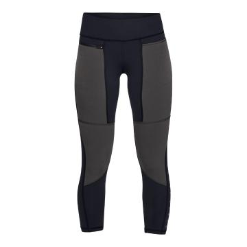 Under Armour Women's Fusion Crop - Black/Pitch Grey