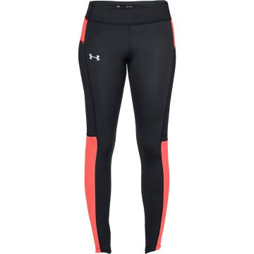 Under Armour Women's Outrun The Storm SP Tight - Blk/AfterBurn/Reflect