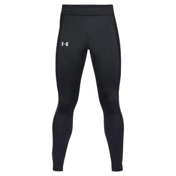 Under Armour Men's Coldgear Run Tight - Blk/Blk/Reflect