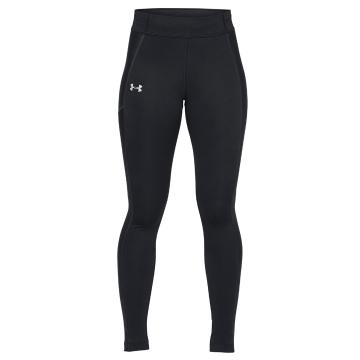 Under Armour Women's ColdGear Run Tight - Blk/Blk/Reflect