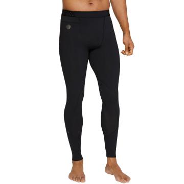 Under Armour Men's HG Rush Leggings - Black / Black