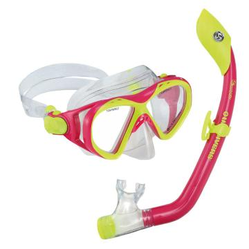US Divers Youth Playa Snorkelling Set - Pink