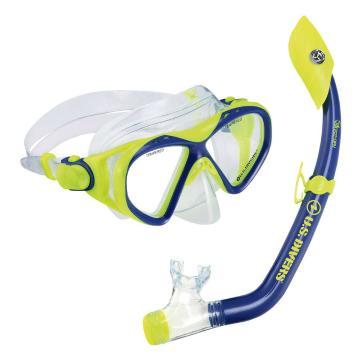 US Divers Youth Playa Snorkelling Set - Blue